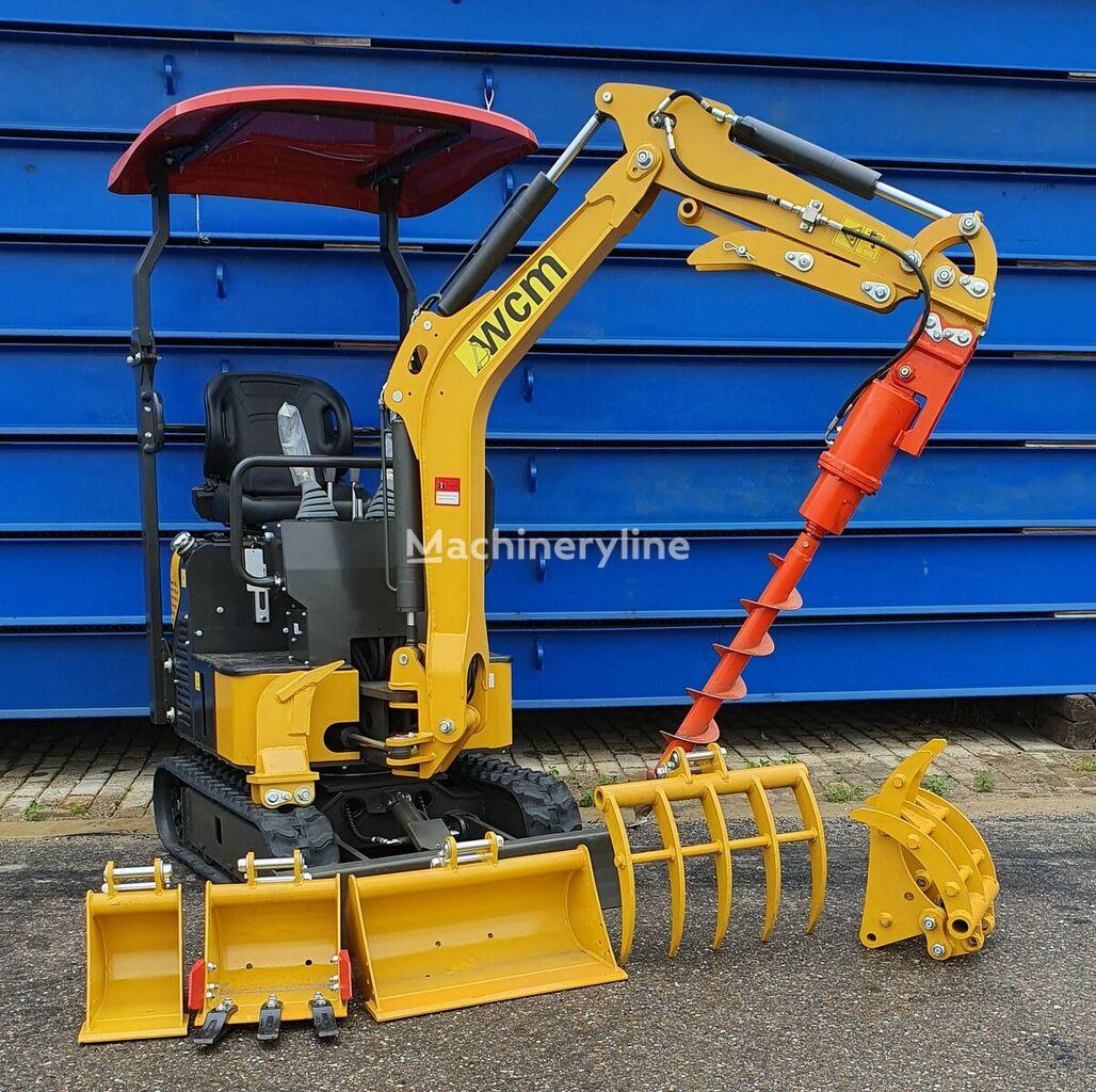 new WCM CTX8010 mini excavator