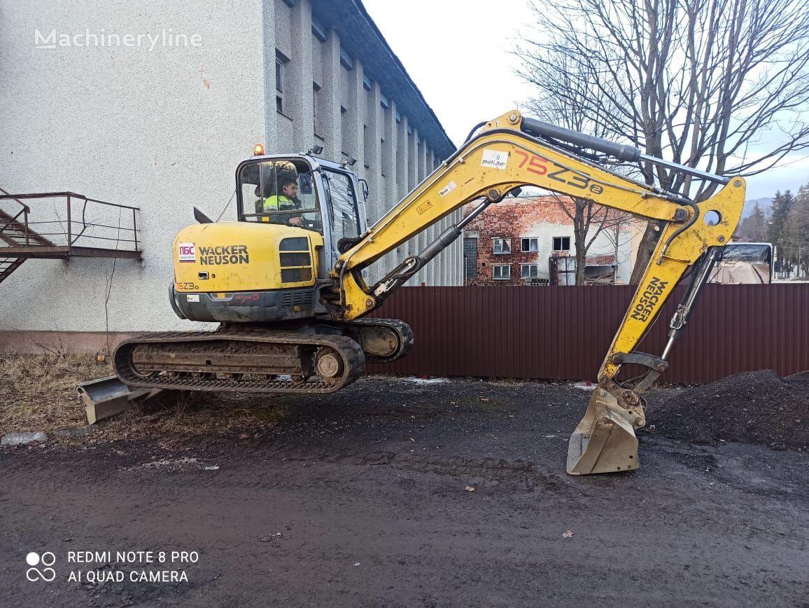 Wacker Neuson 75Z3 mini excavator