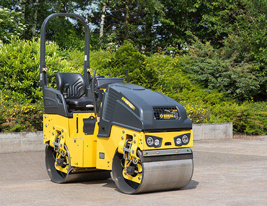 new BOMAG BW 80 AD-5 mini road roller