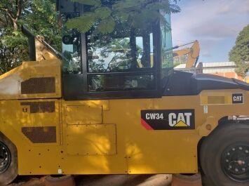 CATERPILLAR CW34 pneumatic roller