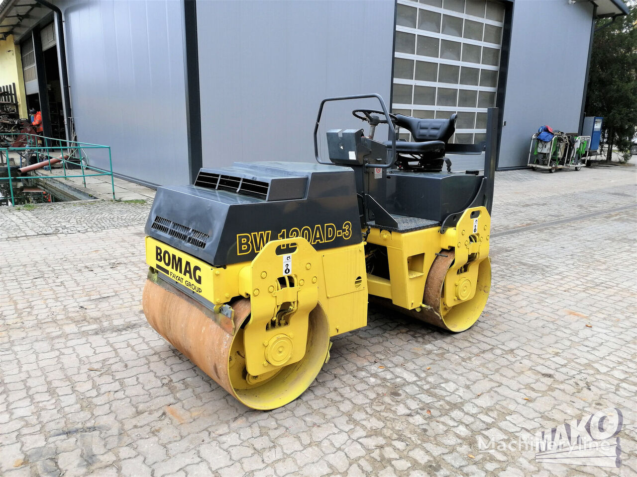 BOMAG BW 120 AD-3 road roller