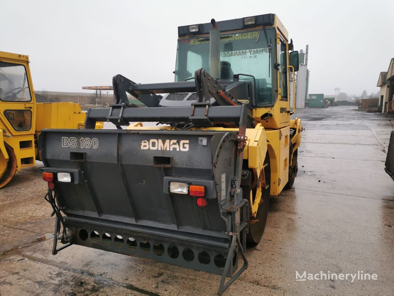 BOMAG BW 174 AD AM road roller