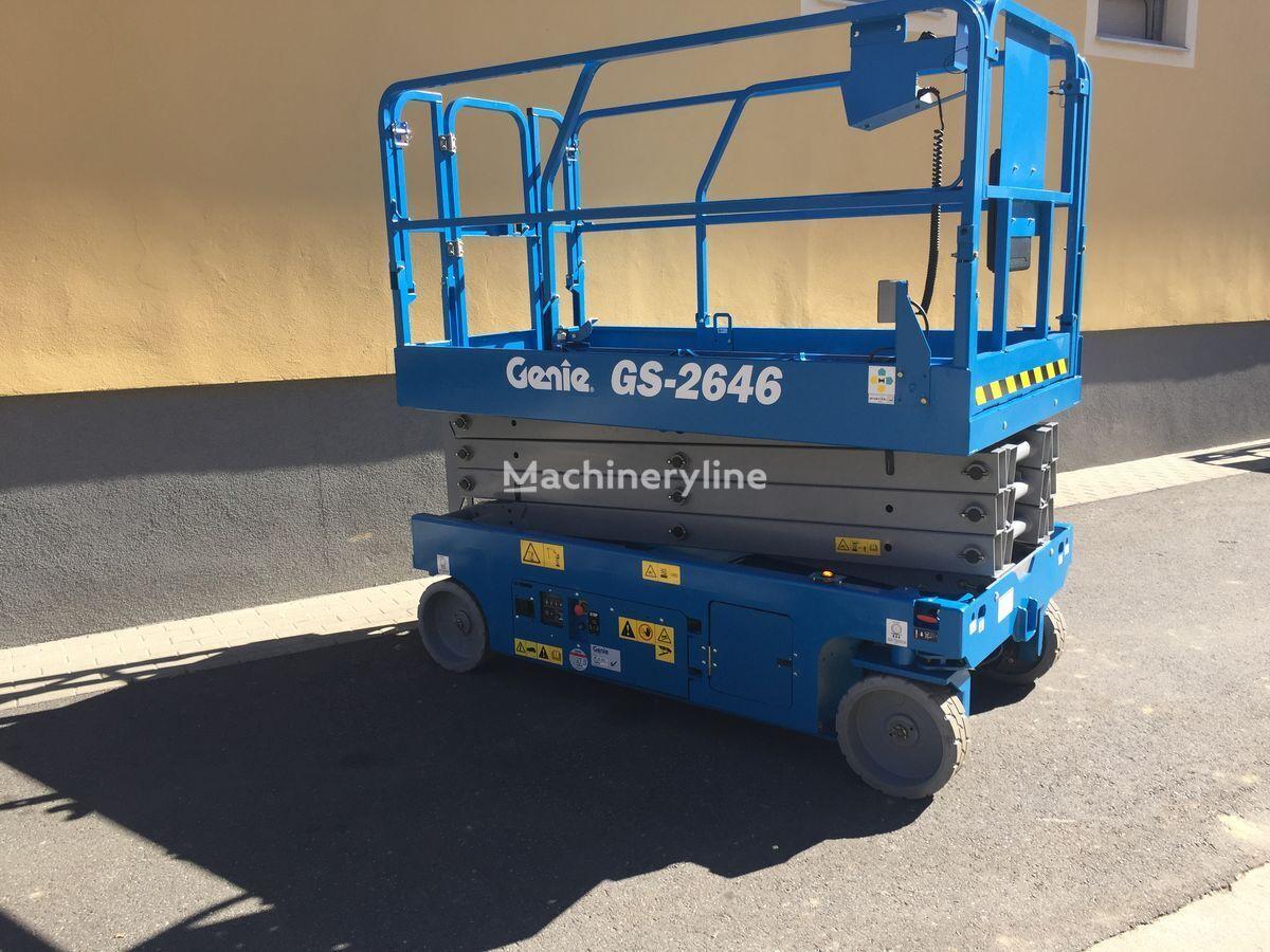 new GENIE GS2646 scissor lift