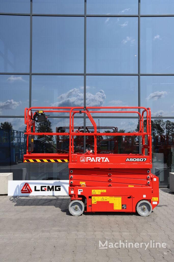 new LGMG PARTA  AS0607 scissor lift