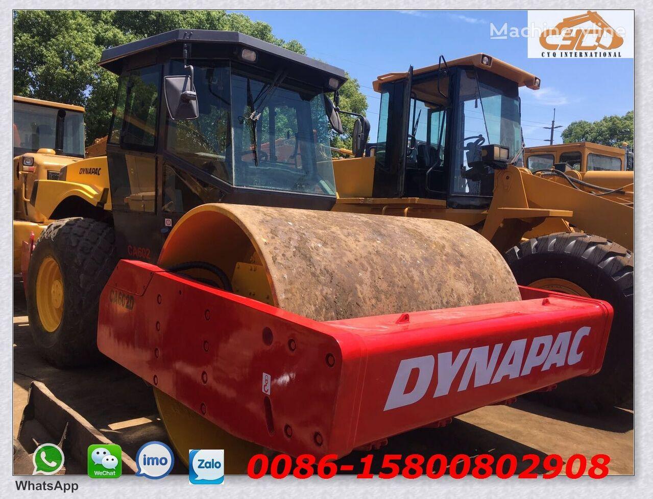 DYNAPAC CA602D single drum compactor