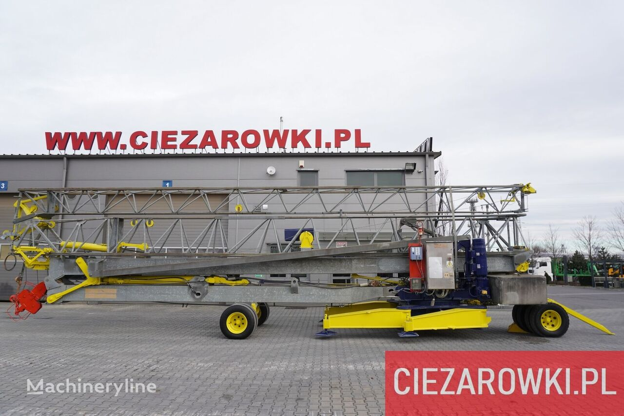 MA SOL HS 35.10 , 35m - 4000kg , trailed , construction crane  tower crane