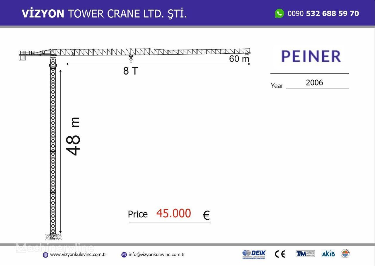 PEINER tower crane