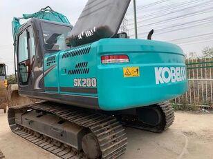 KOBELCO SK200 tracked excavator