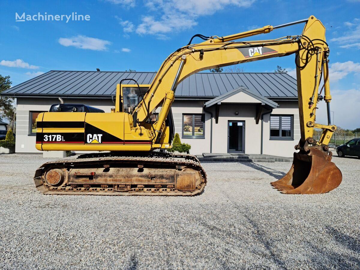 CATERPILLAR 317BL tracked excavator