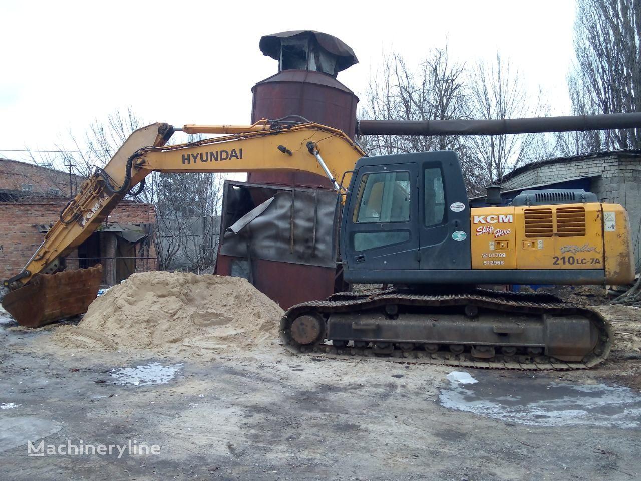 HYUNDAI Robex 210 LC-7A tracked excavator