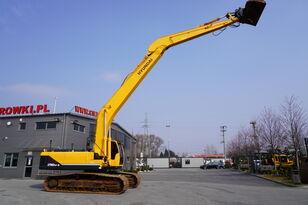 HYUNDAI Robex 290 LC 9 , 31t , LONG Reach 14m , 3D GPS TOPCON , tracks 8 tracked excavator