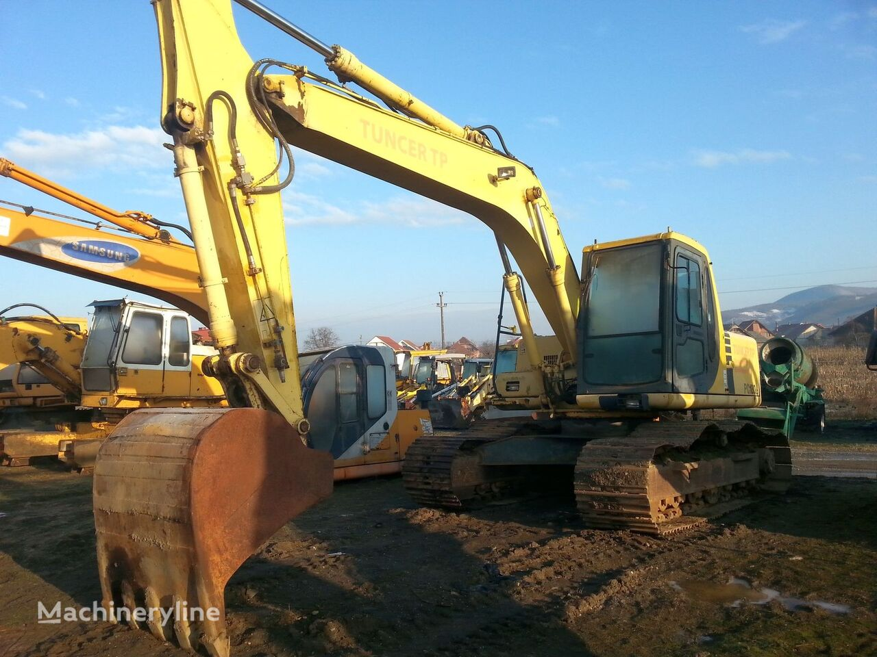 KOMATSU PC 180LC All Parts tracked excavator for parts