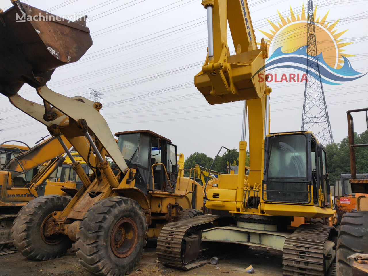 KOMATSU PC270-7 tracked excavator
