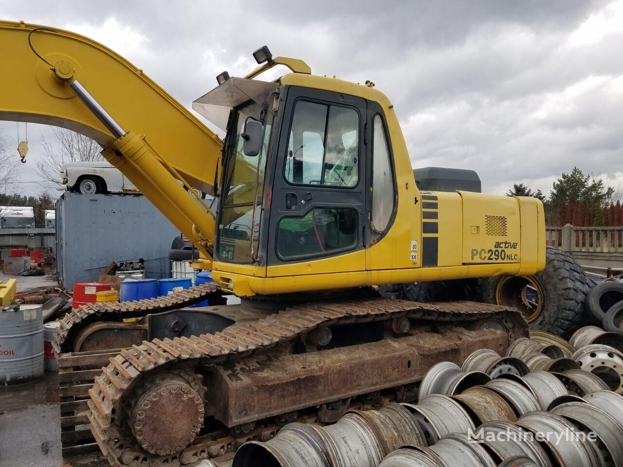 KOMATSU PC290 NLC-6K tracked excavator