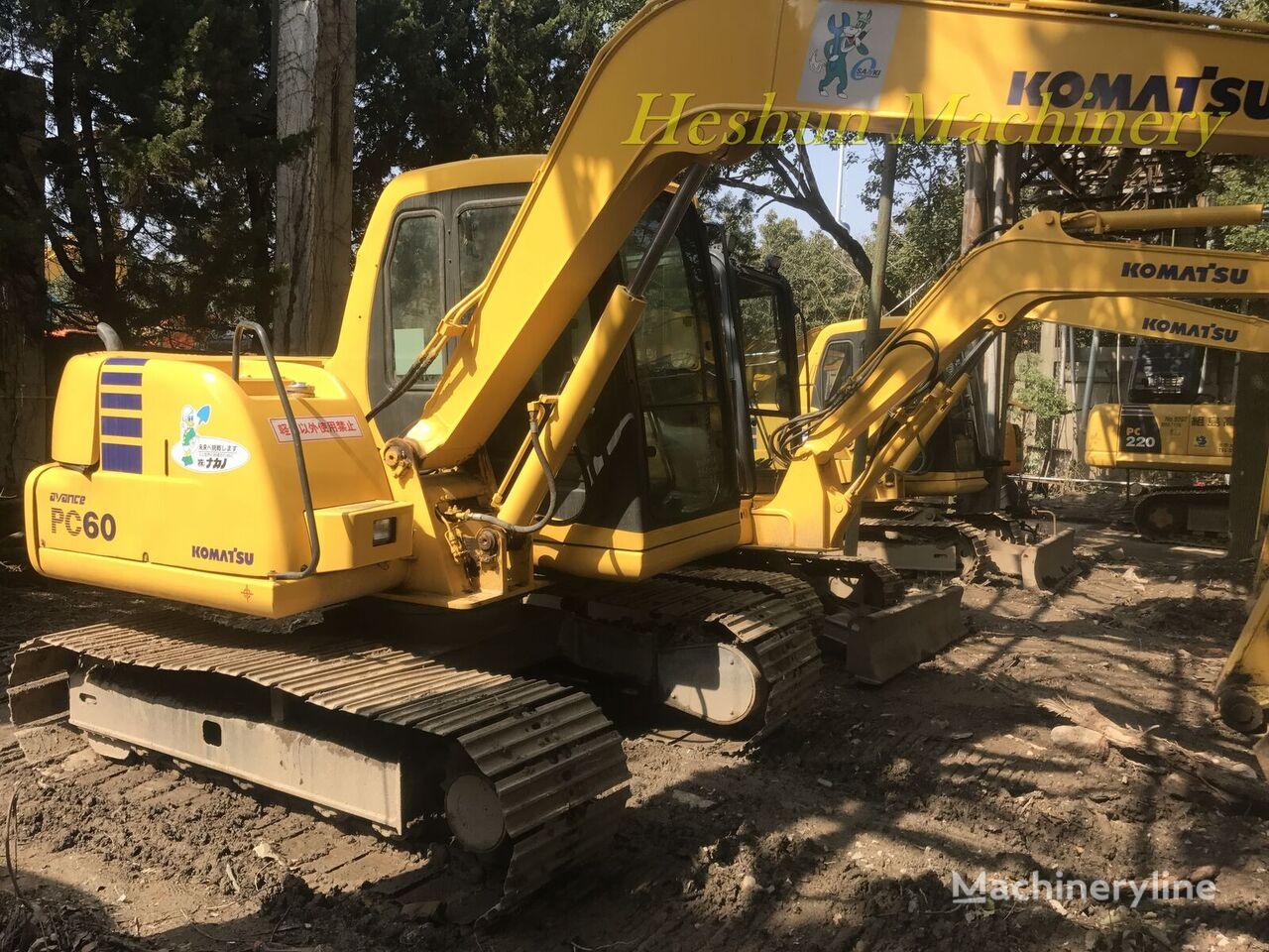KOMATSU PC60 tracked excavator