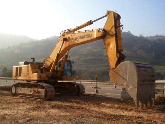 KOMATSU PC600-6K tracked excavator