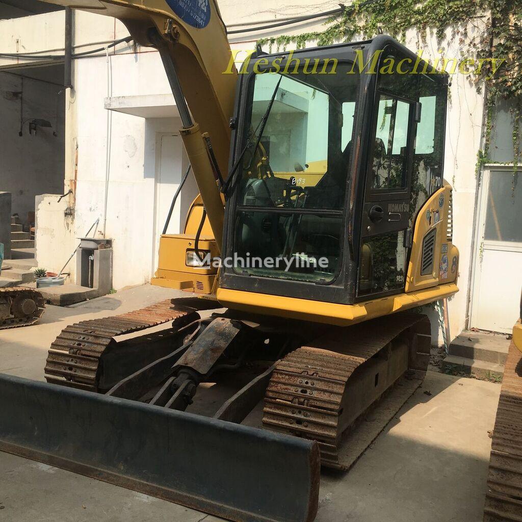 KOMATSU PC70-8 tracked excavator