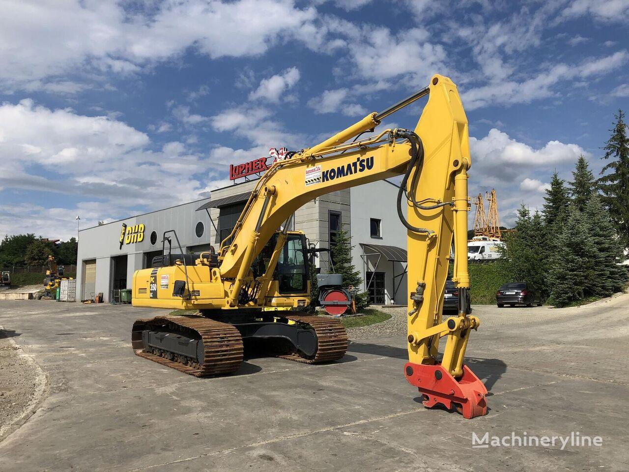 KOMATSU Pc350Lc-8 tracked excavator