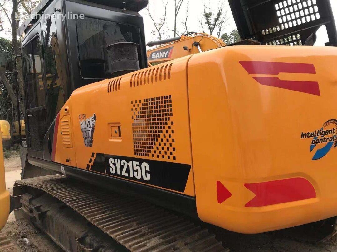 SANY tracked excavator