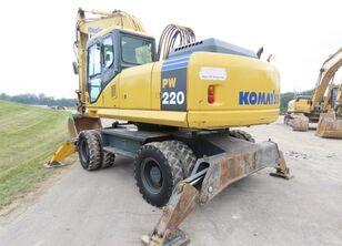 KOMATSU PW220-7KA wheel excavator
