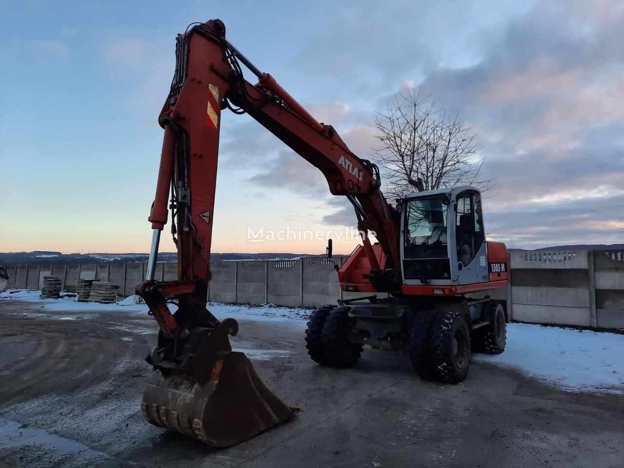 ATLAS 1505 M wheel excavator