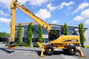CASE WX240 , 23t , LONG REACH 16m , 4k MTH , hydraulic bucket , joyst wheel excavator