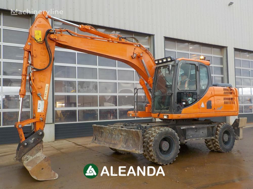 DOOSAN DX140 wheel excavator