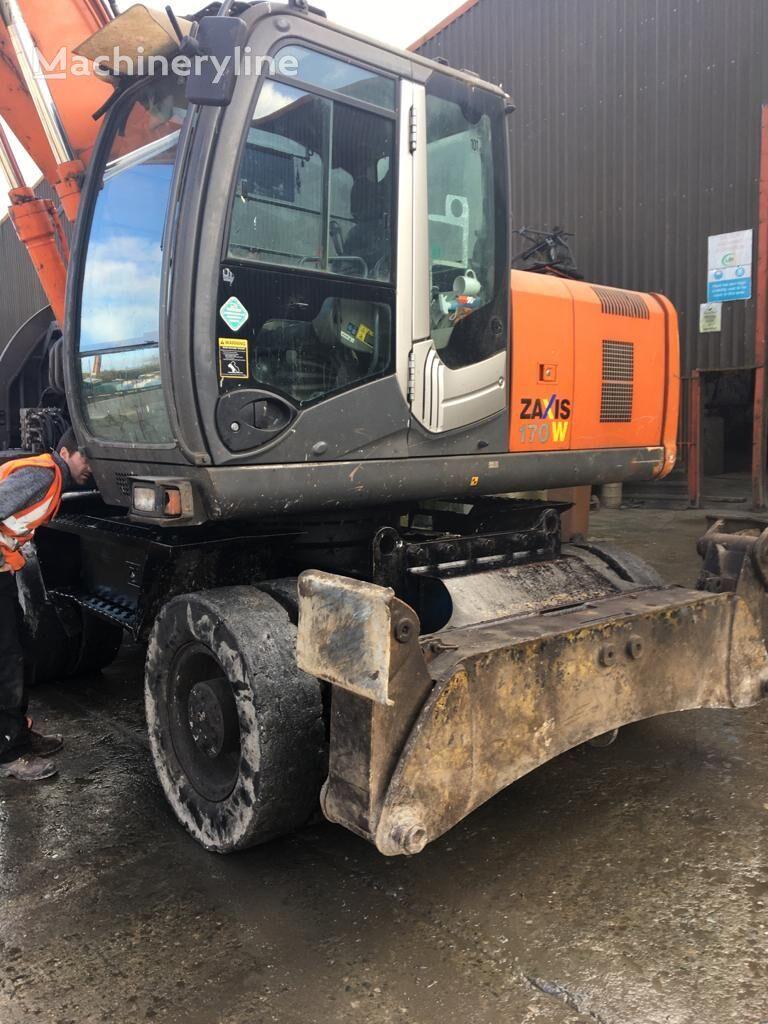 HITACHI Zx170w  wheel excavator