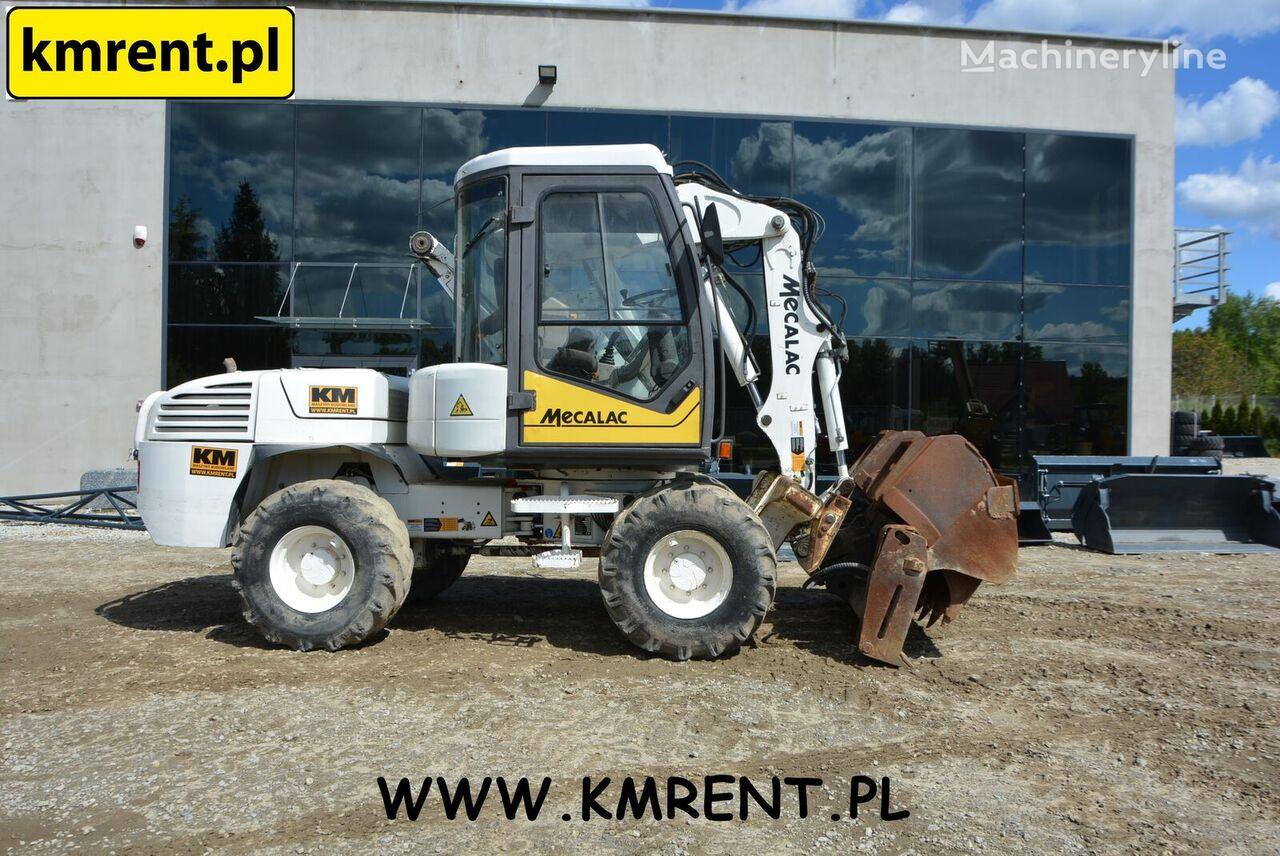 MECALAC 12 MSX  wheel excavator