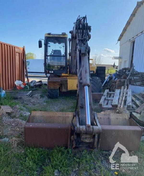 MECALAC 12 MXT wheel excavator