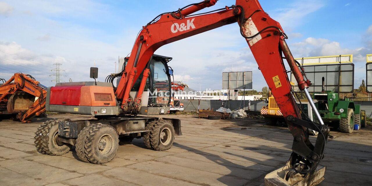 O&K MH PLUS wheel excavator