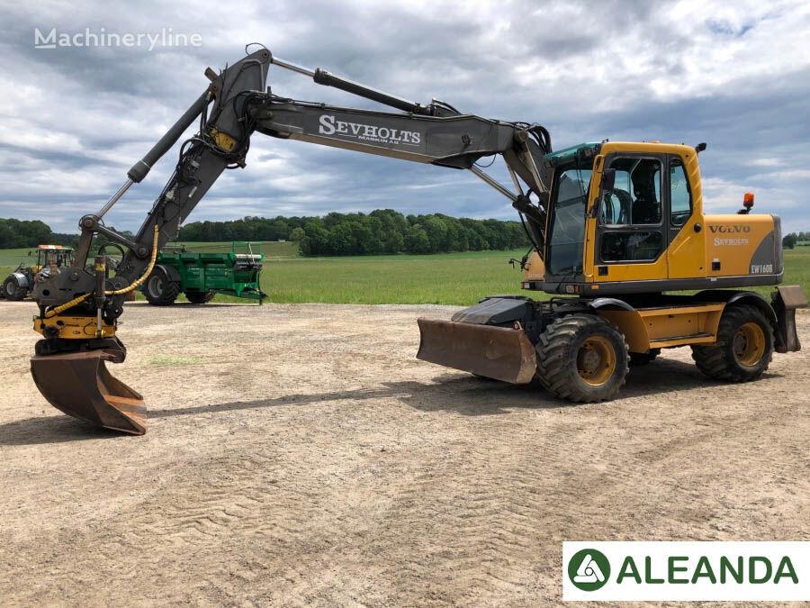 VOLVO EW160B wheel excavator