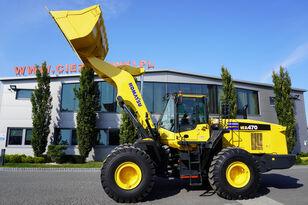 KOMATSU WA 470-7 , 24 t, bucket , auto greasing system , camera , A/C wheel loader