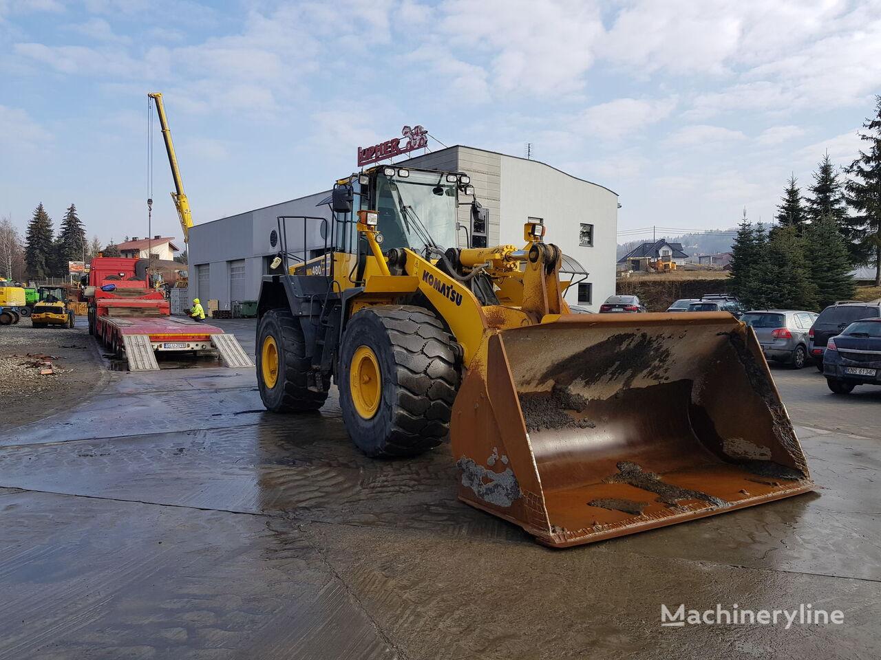 KOMATSU WA 480-6 wheel loader