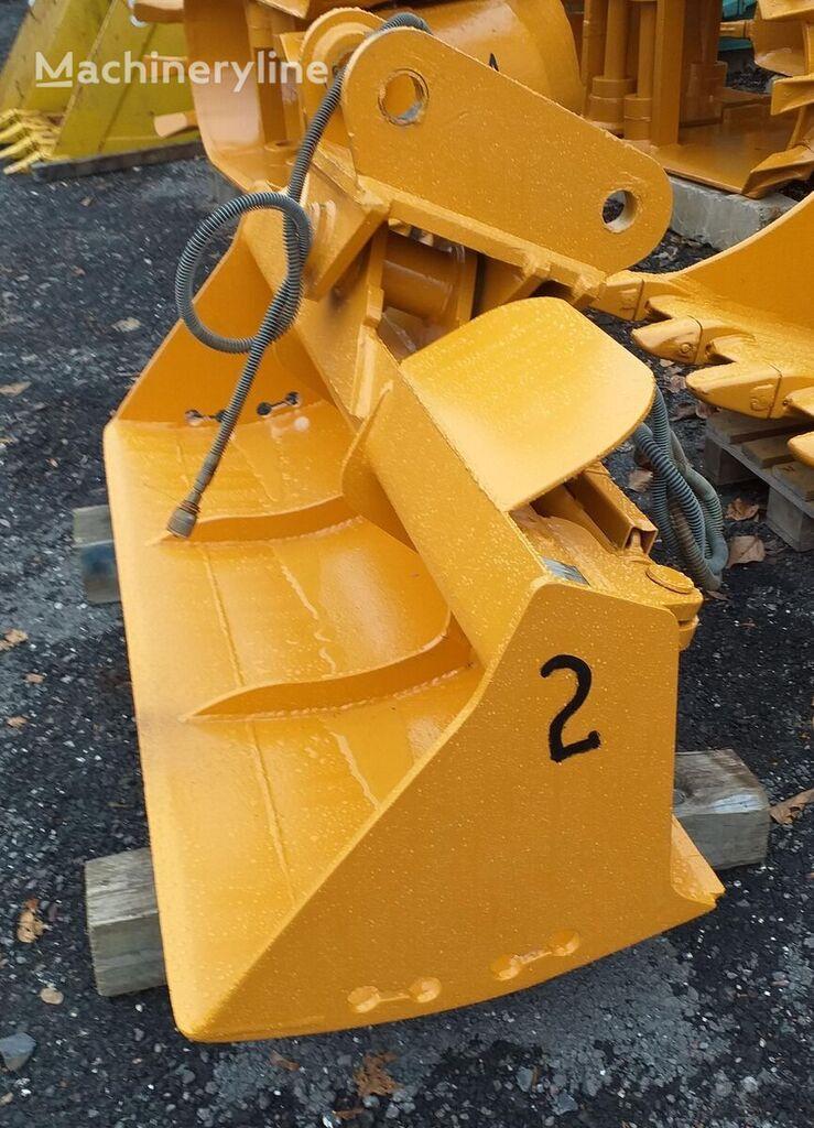Shovel / gripper excavator bucket