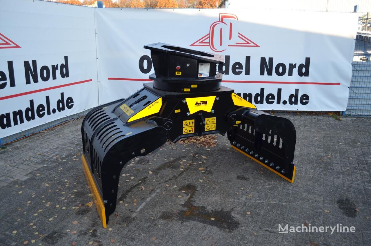 new MB Crusher  G1200 grapple