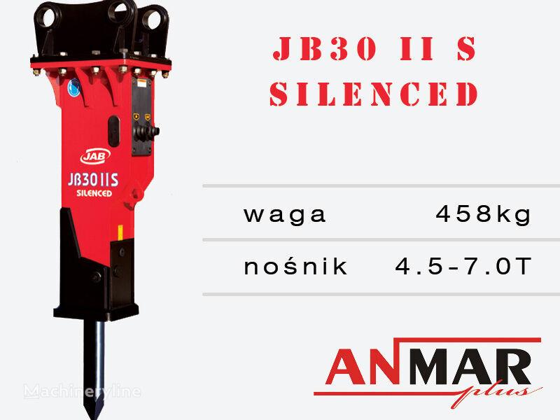 new JAB JB30 hydraulic breaker