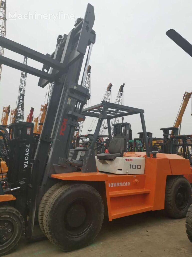 TCM FD100 heavy forklift