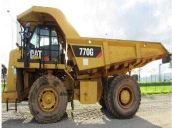 CATERPILLAR 770G haul truck