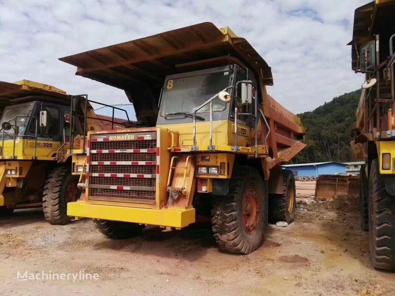 KOMATSU HD325-6 rock  dump truck haul truck