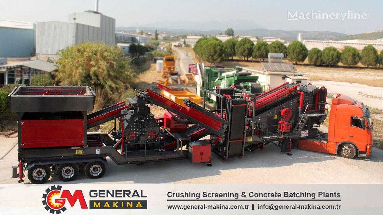 new GENERAL MAKİNA Mobile Tertiary impact crusher