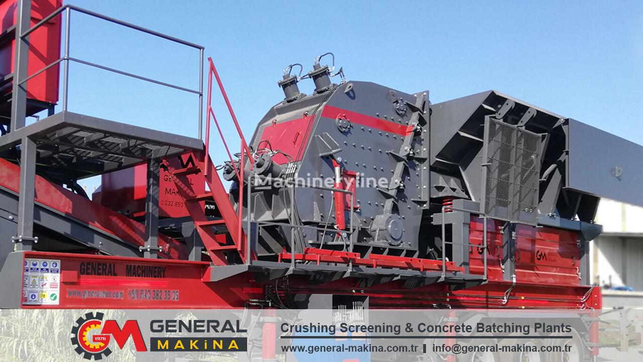 new GENERAL MAKİNA PDK01 Impact Stone Crusher impact crusher