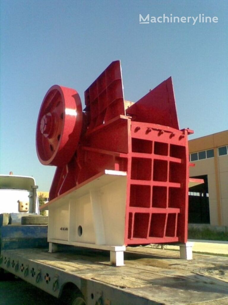 new FABO CLK-140 | 320-600 TPH PRIMARY JAW CRUSHER jaw crusher