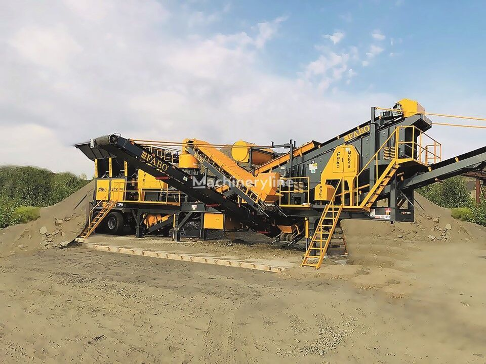 new FABO MCK-65 MOBILE CRUSHING & SCREENING PLANT FOR GRANIT  jaw crusher