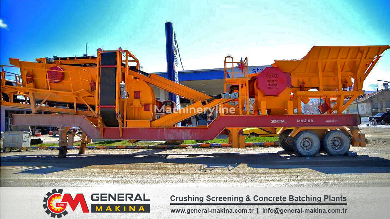 new GENERAL MAKİNA 640 Mobile Crushing and Screening Plant mobile crushing plant