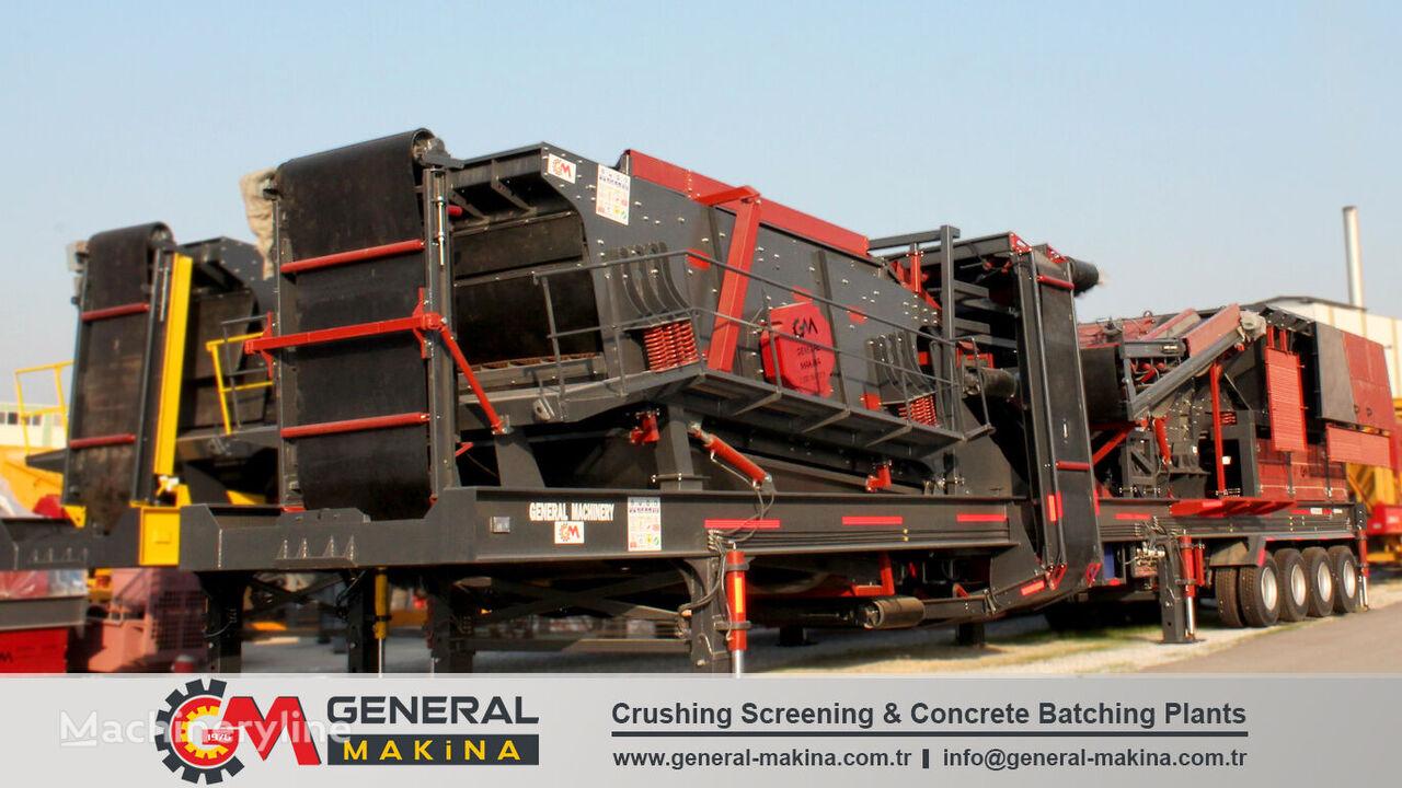 new GENERAL MAKİNA GNR03 Mobile Crusher mobile crushing plant