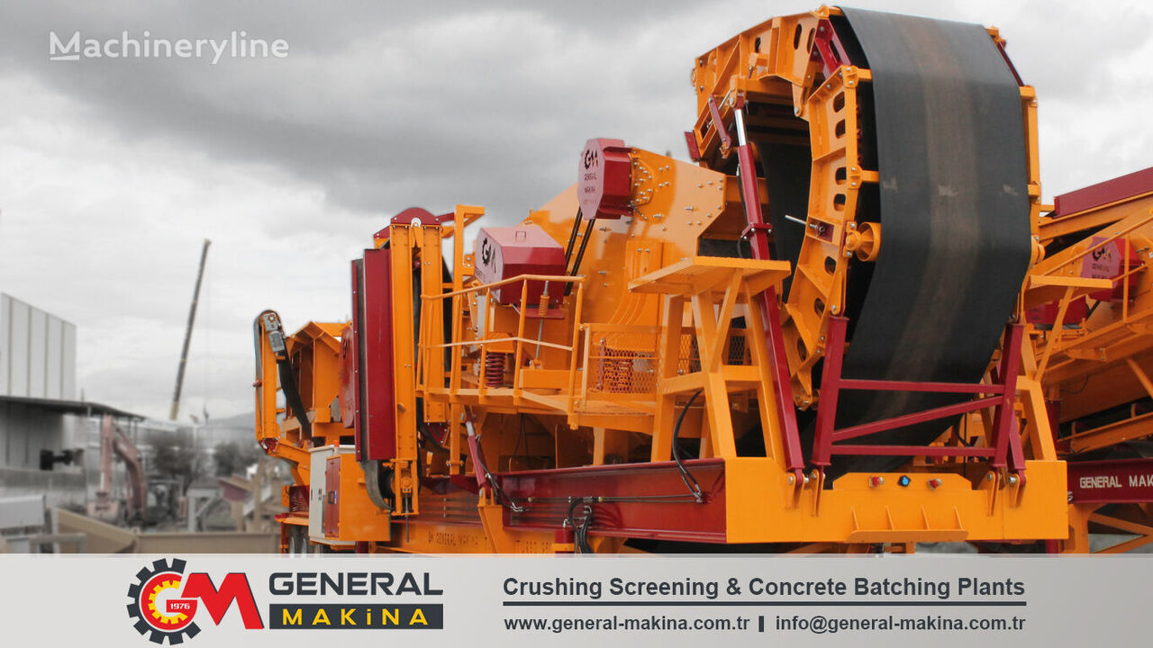 new GENERAL MAKİNA GNR950 Portable Crushing and Screening Plant mobile crushing plant