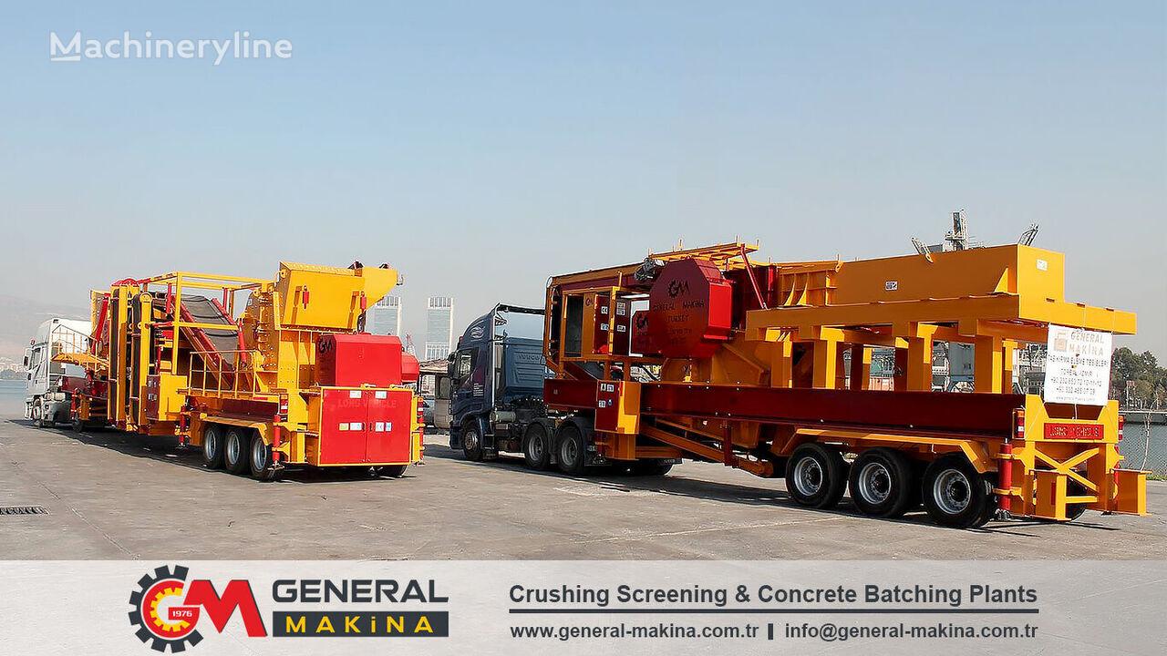 new GENERAL MAKİNA MC110 mobile crushing plant