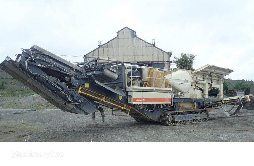 METSO Lokotrack LT106 mobile crushing plant