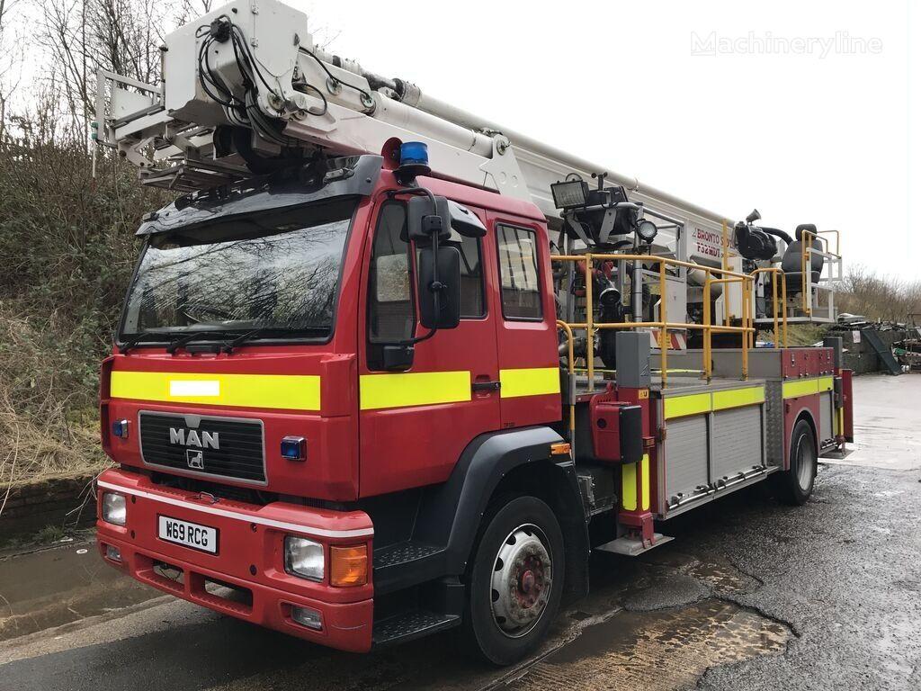 MAN fire ladder truck